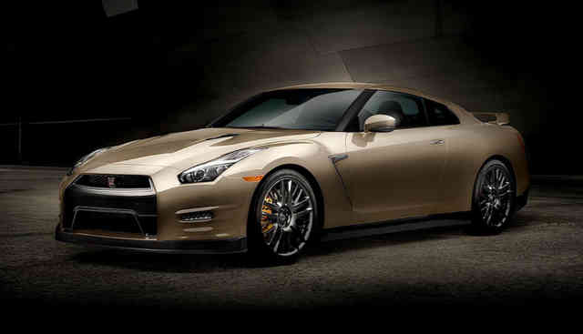 Beauty of Nissan GT-R 2016 Images