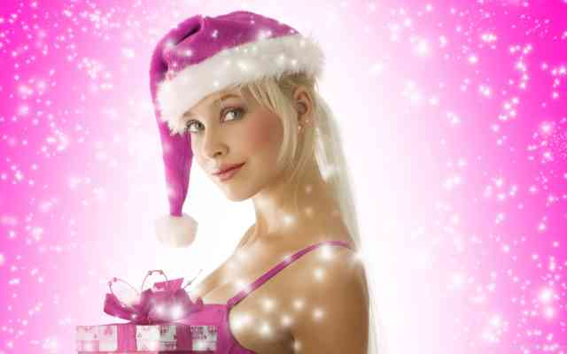 Best Hot Christmas Women HD Wallpapers
