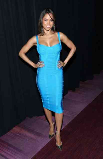 Blue Dress Stacey Dash Suspended on FOX Photos