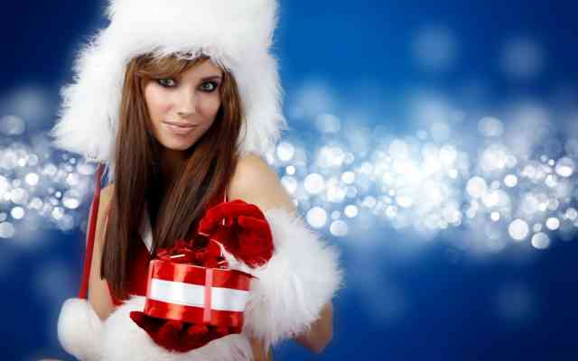 Hot Christmas Angel Girl Images
