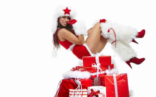 Hot Christmas Cute Girl Images