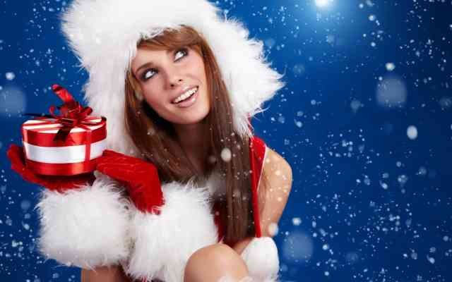 Hot Christmas Women Images