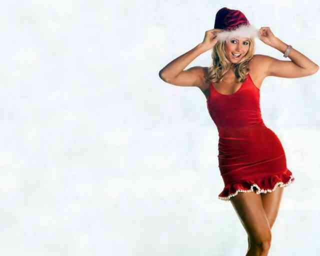 Hot Stacy Keibler Christmas Women HD Wallpapers