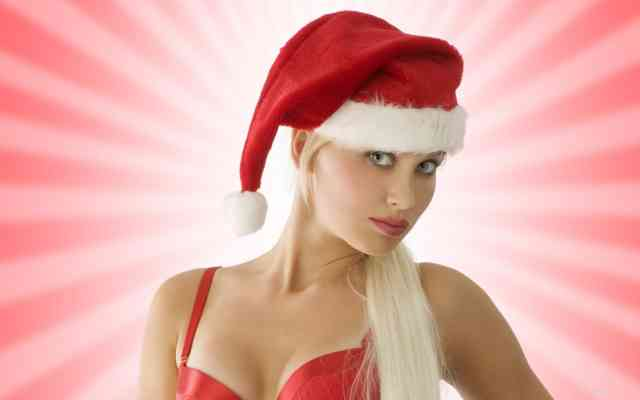Hot Top Model Christmas Women HD Wallpapers
