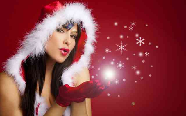 Images Hot Christmas Girls Wallpapers