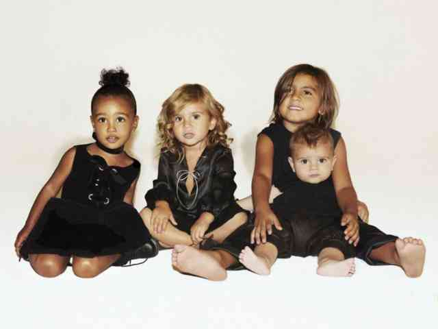 Kids Kardashian Christmas Card 2015 Images