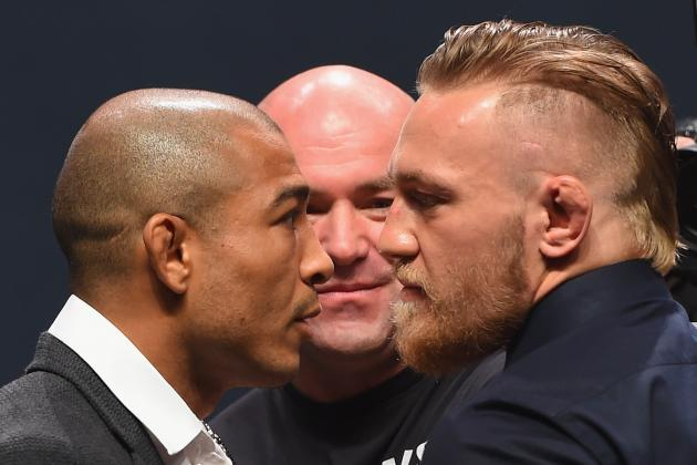 No Fear Conor McGregor KOs Jose Aldo 13 seconds Images