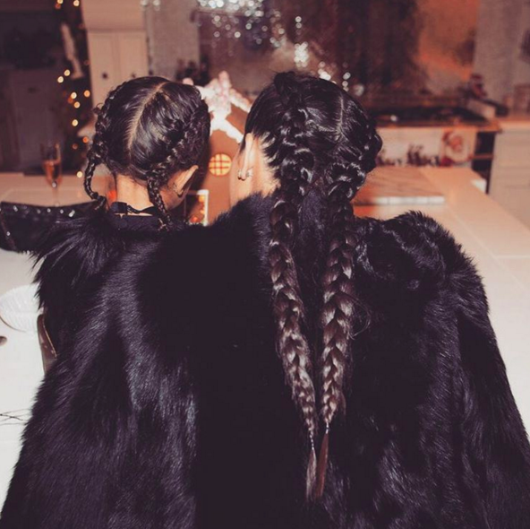 North & Kardashian Christmas 2015 Images