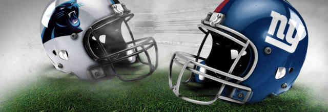 Panthers VS Giants: Images of Football Game