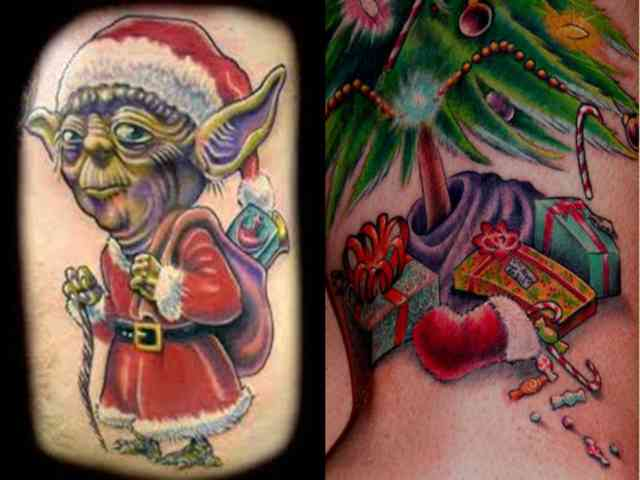Star Wars Christmas Tattoo Ideas