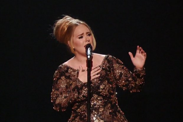 Talented Adele : Concert Live in New York City Images