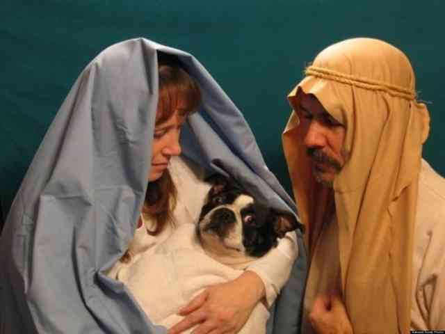 Weirdest Family Christmas Photos #6