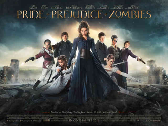 Pride and Prejudice and Zombies wallpaper poster HD