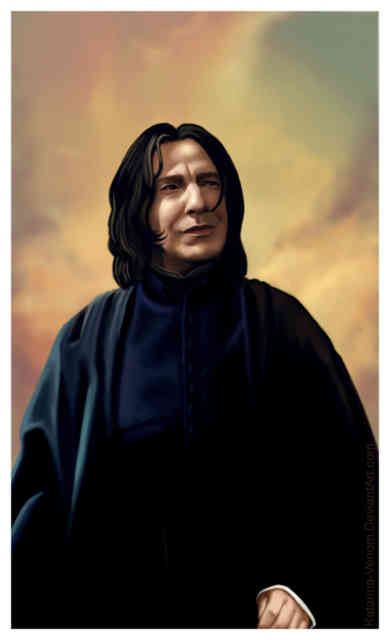 Alan Rickman Professor Snape is Dead