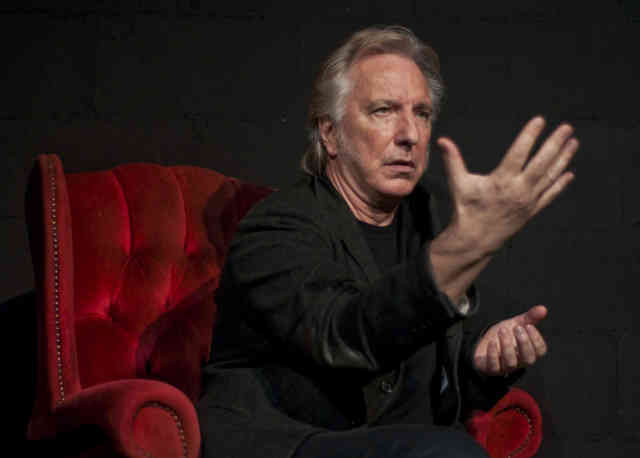 Character Alan Rickman Professor Snape is Dead