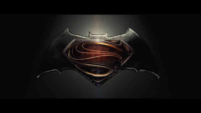 Batman vs Superman logo wallpaper exclusive