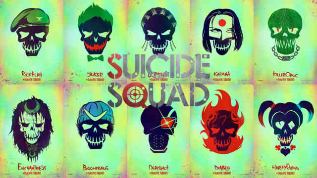 Suicide Squad movie wallpaper hd