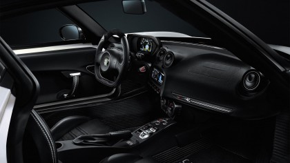 2015 Alfa Romeo 4C Spider car wallpaper HD car interior design