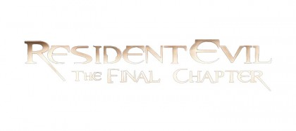 Resident Evil 6 The Final Chapter logo png clean background