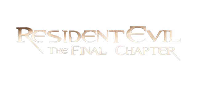 Resident Evil 6 The Final Chapter logo png