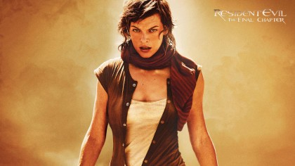 Resident Evil 6 The Final Chapter wallpaper HD film 2017 poster image