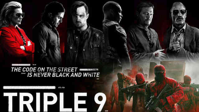 Triple 9 Wallpaper HD 2016 film Poster Exclusive!