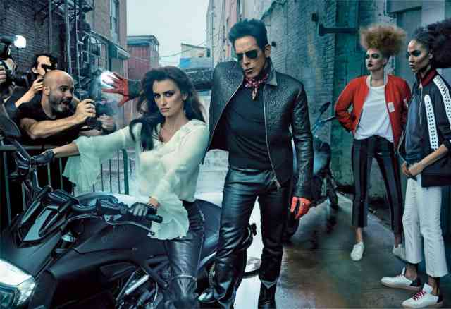 Zoolander 2 wallpaper HD Penélope Cruz and Derek Zoolander Re-Create Iconic Fashion Shoots