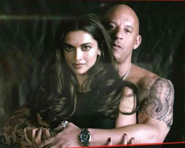 Photos with Vin Diesel, Deepika Padukone