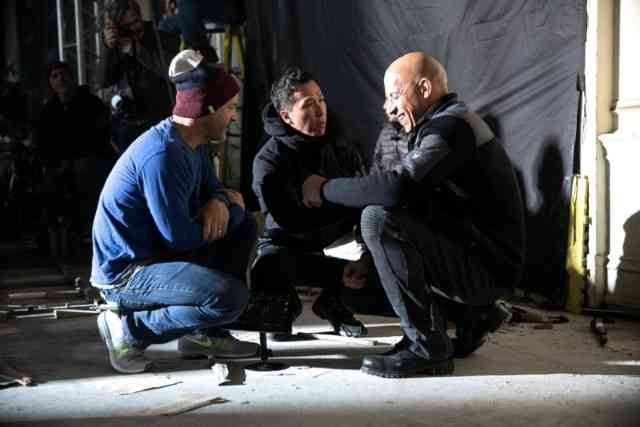 Photos with Vin Diesel, D.J. Caruso, Donnie Yen