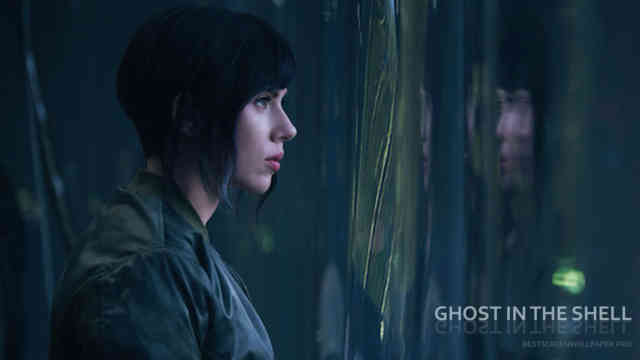 Ghost in the Shell movie wallpaper HD film 2017 poster image