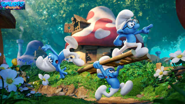 Smurfs: The Lost Village Animated movie wallpaper HD film 2017 poster image
