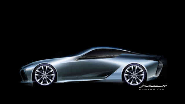 Lexus LF-LC Concept - Car Body Design