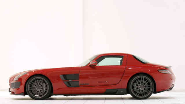 2010 Mercedes SLS AMG Widestar By Brabus Red