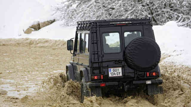 2009 Mercedes G-Class EDITION30 in nature