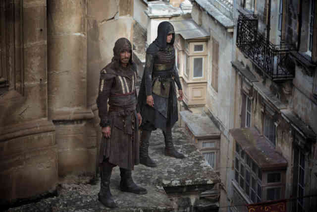 Michael Fassbender and Ariane Labed in Assassin's Creed (2016)