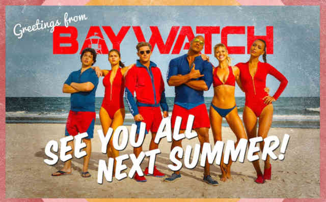 Baywatch movie wallpaper HD film 2017 poster image