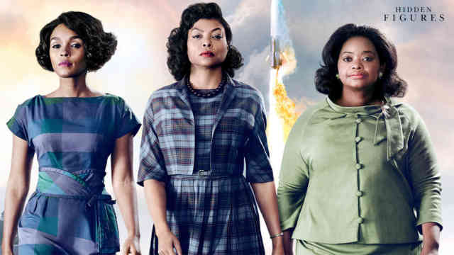 Hidden Figures movie wallpaper FullHD film 2017 poster image