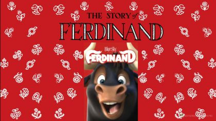 The Story of Ferdinand wallpaper HD film 2017 poster iPad