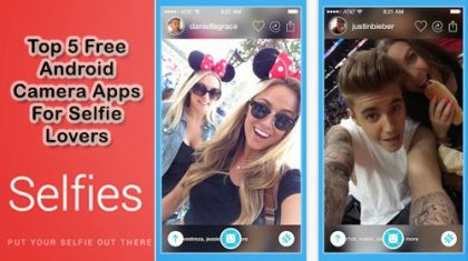 10 Best Free Selfie Apps Available for Android