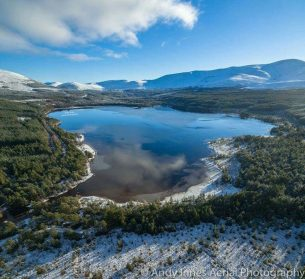 Cairngorms National Park in Autumn Provides For Perfect Setting For Photographers