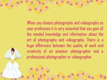 Choosing Between Amateur & Professional Wedding Videography