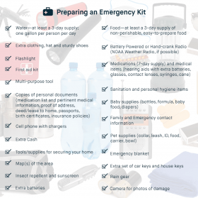 Preparedness Will Ensure Positive Memories