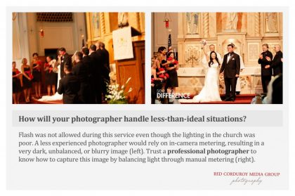 Rely on Experienced Photographers for Wedding Photography