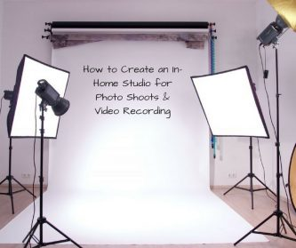 Set Your Photography Home Studio Yourself!
