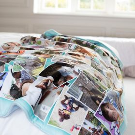 Why You Should Consider A Custom Photo Blanket As Personalized Christmas Gift