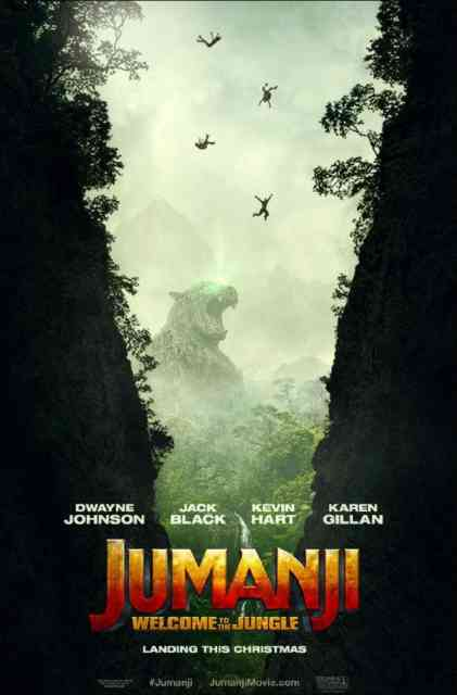Jumanji: Welcome to the Jungle movie 2