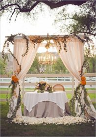 Get Creative with Wedding Arches,Canopies Indoors or Outdoors