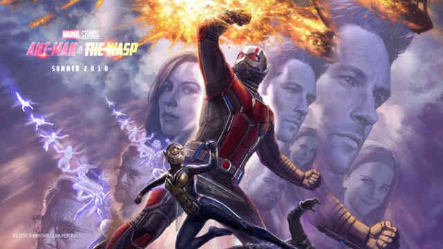 Ant-Man and the Wasp Marvel movie wallpaper HD