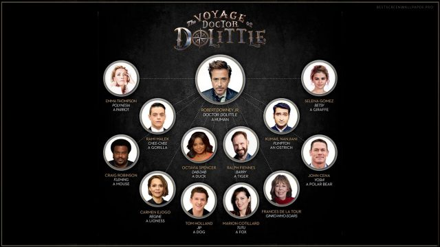 The Voyage of Doctor Dolittle movie wallpaper HD April 2019 USA poster image iphone
