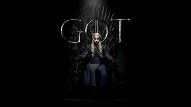 Game of Thrones 8 Season wallpaper 4K UHD Daenerys on the Throne
